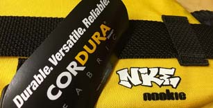 Cordura © used on all Nookie buoyancy aids